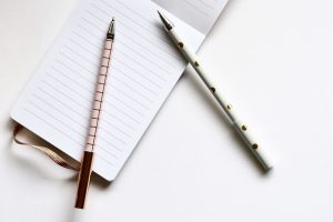 notebook-pens-blogging